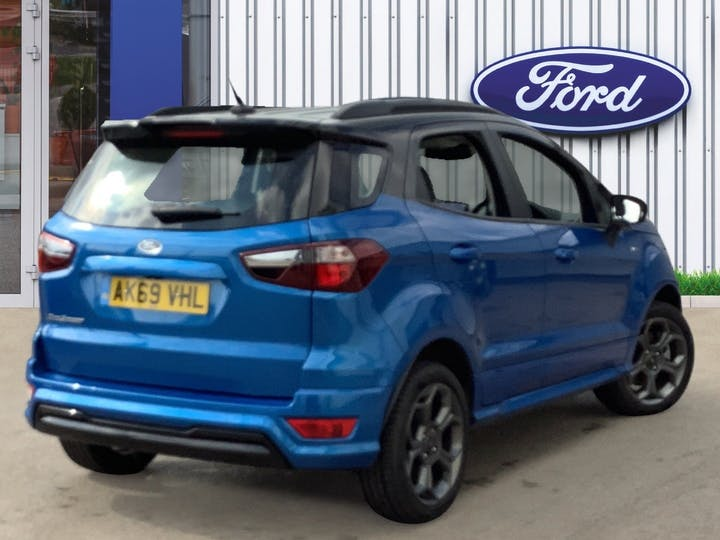 Ford EcoSport 1.0t Ecoboost Gpf St Line SUV 5dr Petrol Manual (s/s) (125 Ps) | AK69VHL | Photo 4