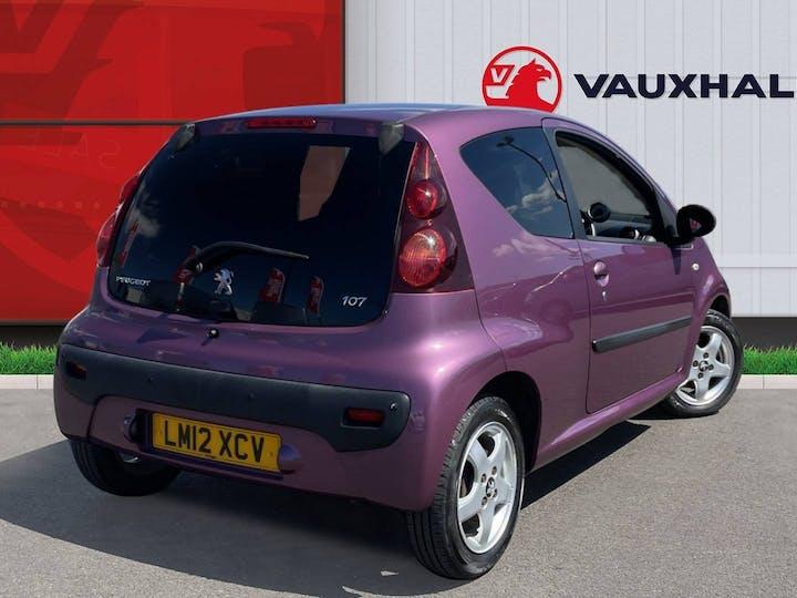 Peugeot 107 1.0 12v Allure Hatchback 3dr Petrol Manual (99 G/km, 68 Bhp) | LM12XCV | Photo 4