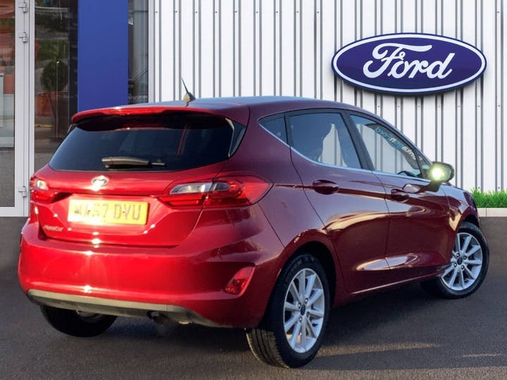 Ford Fiesta 1.0t Ecoboost Titanium Hatchback 5dr Petrol Manual (s/s) (100 Ps) | MA67DVU | Photo 4