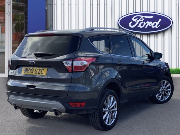 Ford Kuga 1.5 TDCi Ecoblue Titanium Edition SUV 5dr Diesel Manual (s/s) (120 Ps) | MH19SZC | Photo 4