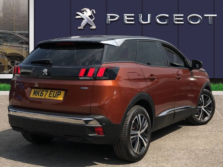 Peugeot 3008 1.2 Puretech Allure SUV 5dr Petrol Eat (s/s) (130 Ps) | MK67EUP | Photo 4