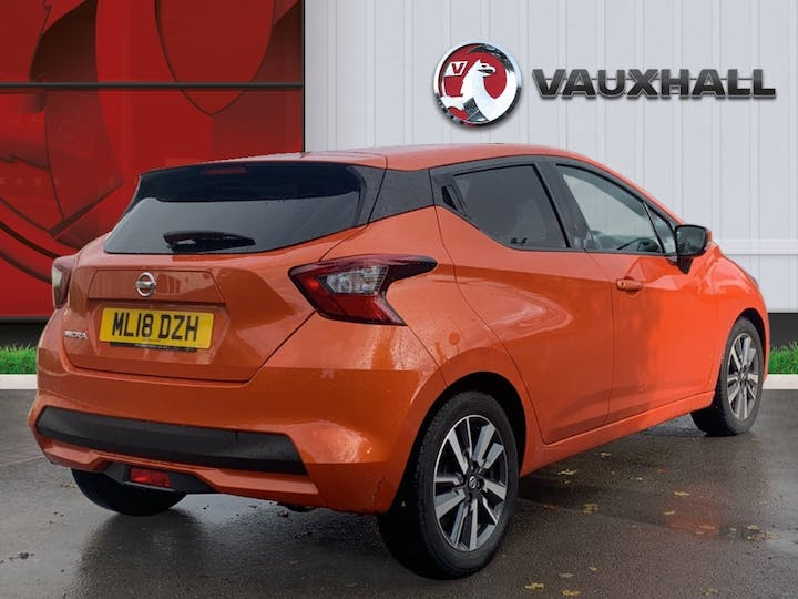 Nissan Micra 0.9 Ig T Acenta Limited Edition Hatchback 5dr Petrol Manual (s/s) (90 Ps) | ML18DZH | Photo 4