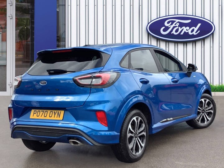 Ford Puma 1.0t Ecoboost St Line SUV 5dr Petrol Manual (s/s) (125 Ps) | PO70OYN | Photo 4