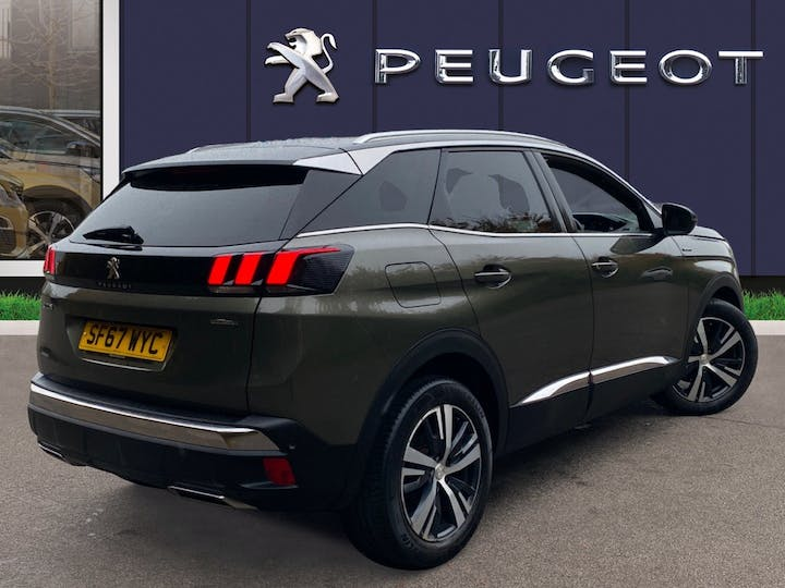 Peugeot 3008 1.6 Bluehdi GT Line SUV 5dr Diesel (s/s) (120 Ps) | SF67WYC | Photo 4