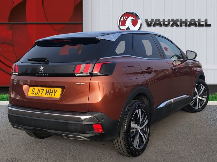 Peugeot 3008 1.6 Bluehdi GT Line SUV 5dr Diesel Eat (s/s) (120 Ps) | SJ17MHY | Photo 4