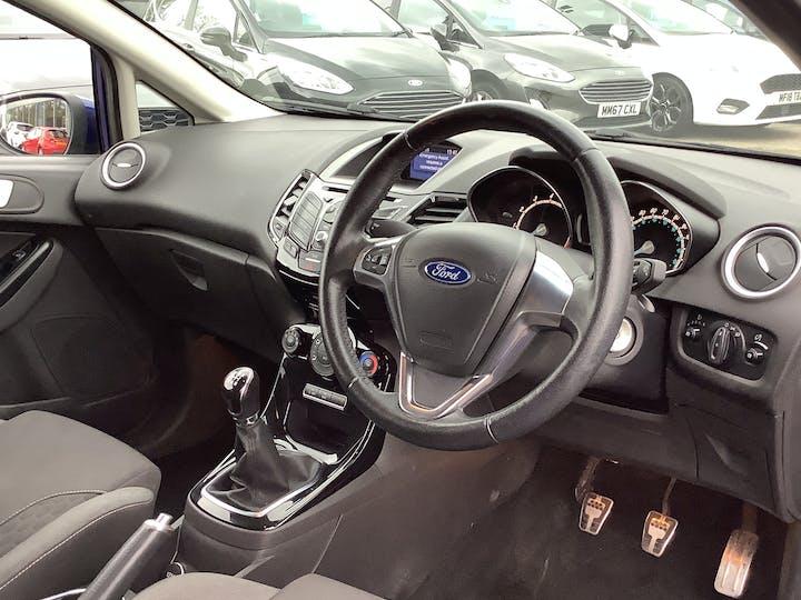 Ford Fiesta 1.0 Ecoboost Zetec S Hatchback 3dr Petrol Manual (s/s) (eu6) (99 G/km, 123 Bhp)   MW65YGX   Photo 5