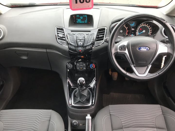 Ford Fiesta 1.25 Zetec Hatchback 5dr Petrol Manual (eu6) (122 G/km, 81 Bhp) | FP64VOA | Photo 6