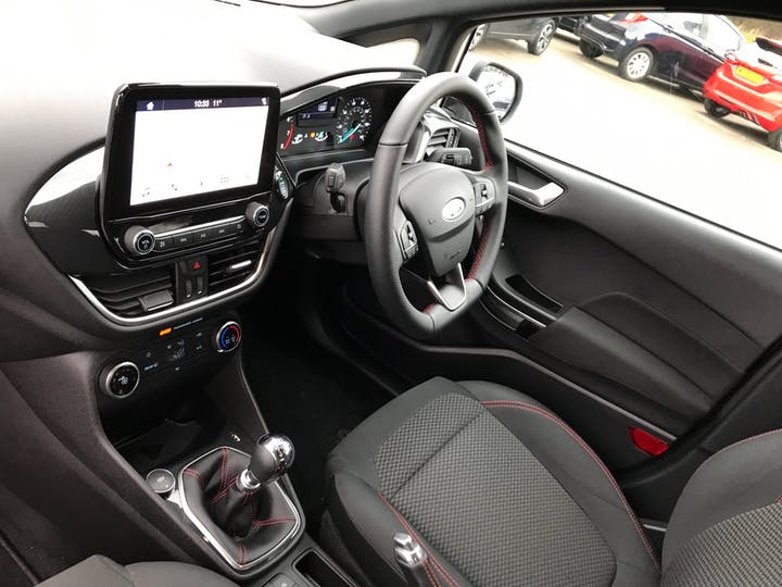 Ford Fiesta 1.0t Ecoboost Gpf St Line Hatchback 5dr Petrol Manual (s/s) (100 Ps) | MH69CAV | Photo 7