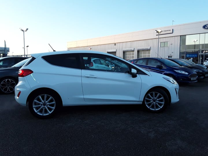 Ford Fiesta 1.0t Ecoboost Titanium Hatchback 3dr Petrol Manual (s/s) (100 Ps)   MJ18BNZ   Photo 7