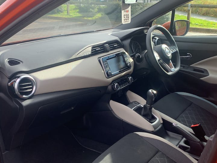 Nissan Micra 0.9 Ig T Acenta Limited Edition Hatchback 5dr Petrol Manual (s/s) (90 Ps) | ML18DZH | Photo 7